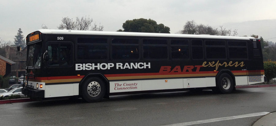 Bishop Ranch BART Express shuttle
