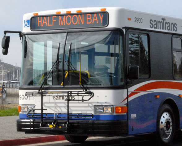 Bus to Half Moon Bay